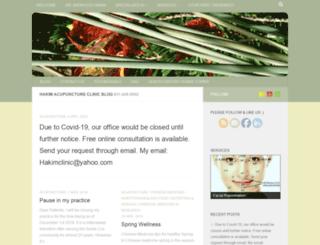 acupunctureinsantacruz.com screenshot