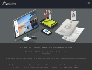 acuramultimedia.com screenshot
