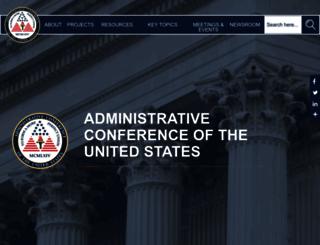 acus.gov screenshot