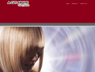 acutabovehairstudio.co.za screenshot