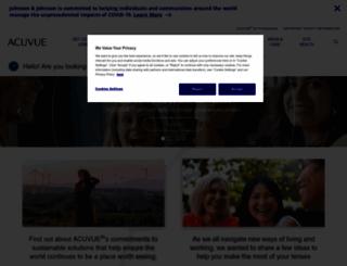 acuvue.co.uk screenshot