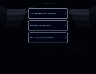 acuwealth.com screenshot