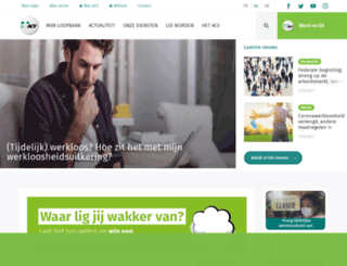 acv-online.be screenshot