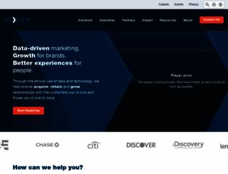 acxiom.com screenshot
