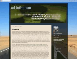 ad-infinitum-pv.blogspot.fr screenshot