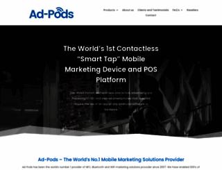 ad-pods.com screenshot