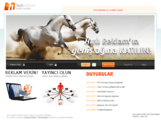 ad.hizlireklam.com screenshot