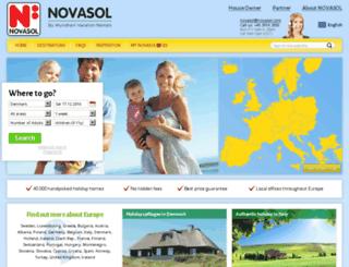 ad.novasol.com screenshot