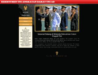 ad.rekrutmen-tni.mil.id screenshot