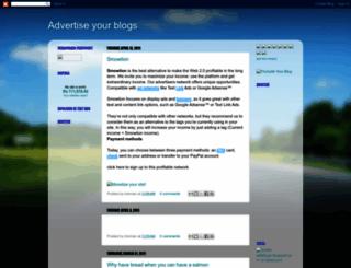 ad4blogs.blogspot.com screenshot
