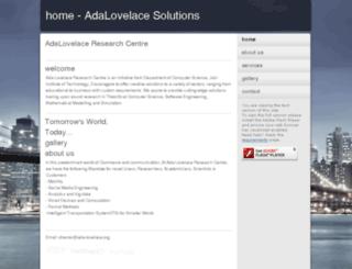 ada-lovelace.org screenshot