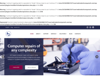 adachicomputech.com screenshot