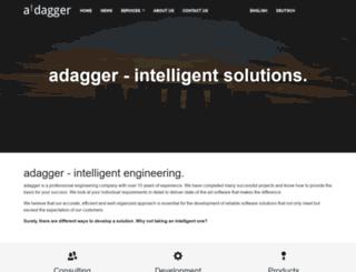 adagger.com screenshot