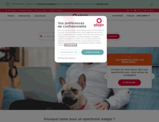 adagio-aparthotel.com screenshot