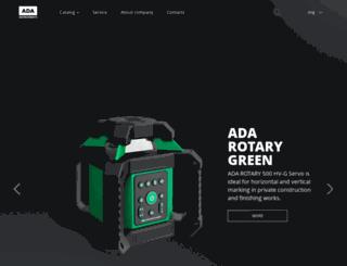 adainstruments.com screenshot