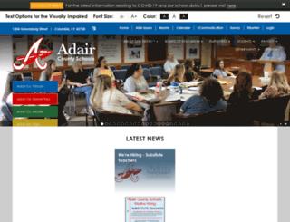 adair.kyschools.us screenshot