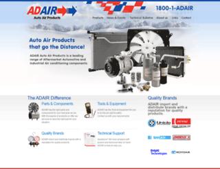 adair.net.au screenshot