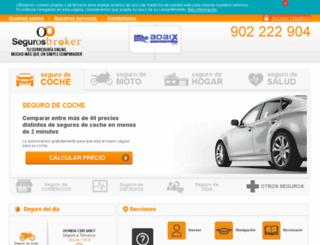 adaix.segurosbroker.com screenshot