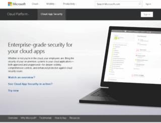 adallom.com screenshot