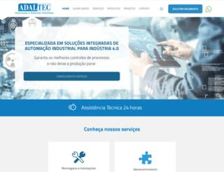 adaltecautomacao.com.br screenshot