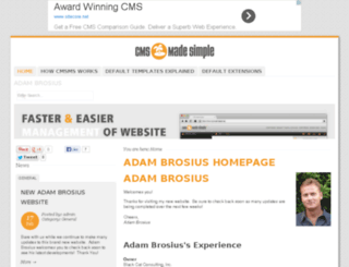 adam-brosius.com screenshot