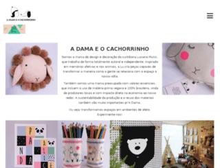 adamaeocachorrinho.com.br screenshot