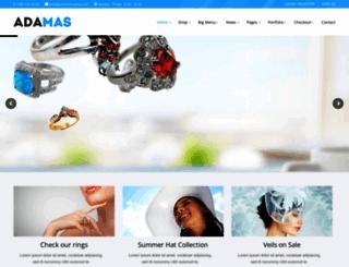 adamas.premiumcoding.com screenshot