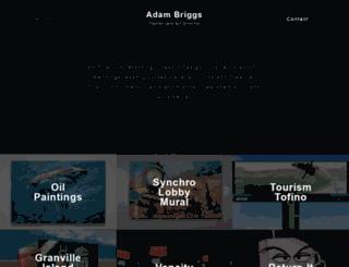 adambriggs.ca screenshot