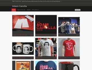 adamcarolla.spinshop.com screenshot