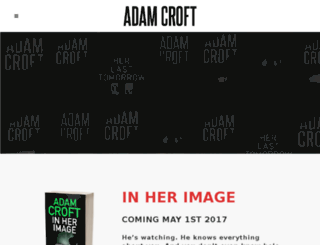 adamcroft.org screenshot
