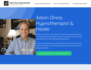 adamdince.com screenshot