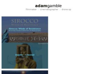 adamgamble.ca screenshot