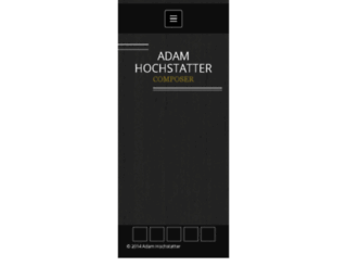 adamhochstatter.com screenshot
