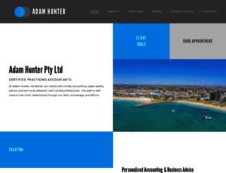 adamhunter.com.au screenshot