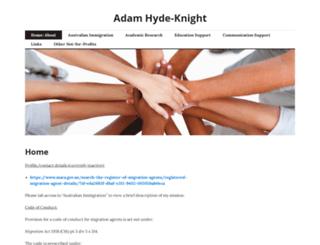 adamhydeknight.wordpress.com screenshot