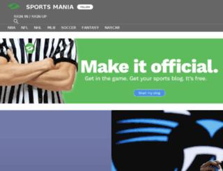 adamjw84.sportsblog.com screenshot