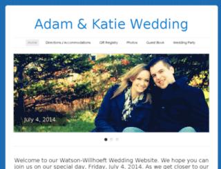 adamkatie2014.com screenshot