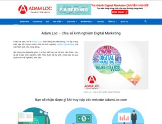 adamloc.com screenshot