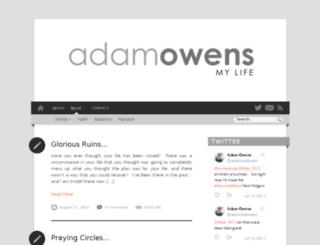 adamowens.com screenshot