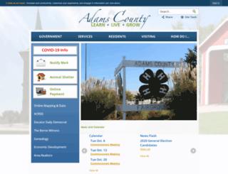 adams-county.com screenshot