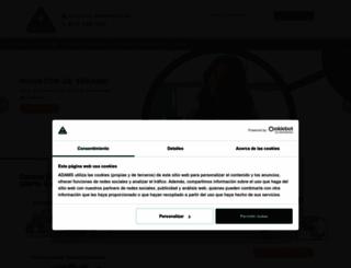 adams.es screenshot