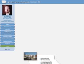 adams.iowaassessors.com screenshot
