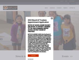 adams.sbunified.org screenshot