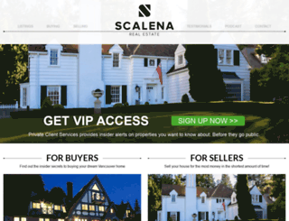 adamscalena.com screenshot