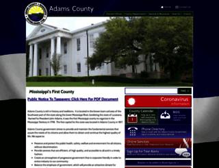 adamscountyms.net screenshot