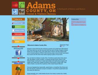 adamscountytravel.org screenshot