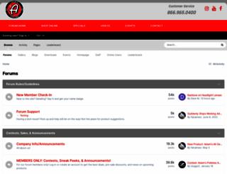 adamsforums.com screenshot