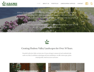 adamslandscapingandsupply.com screenshot