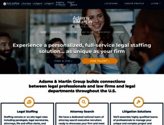 adamsmartingroup.com screenshot