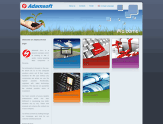 adamsoft.com screenshot